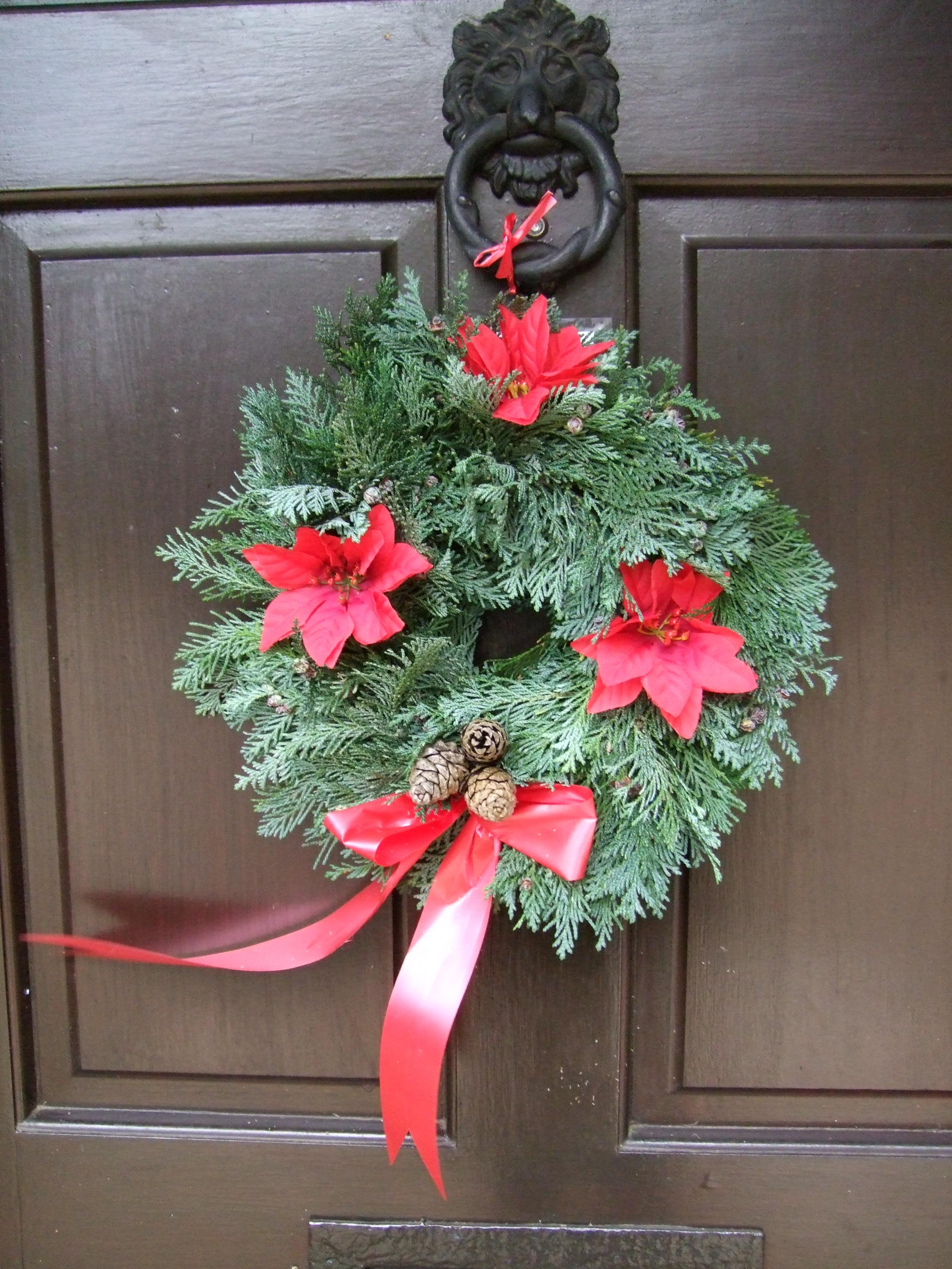 Fir decorated Wreath £13