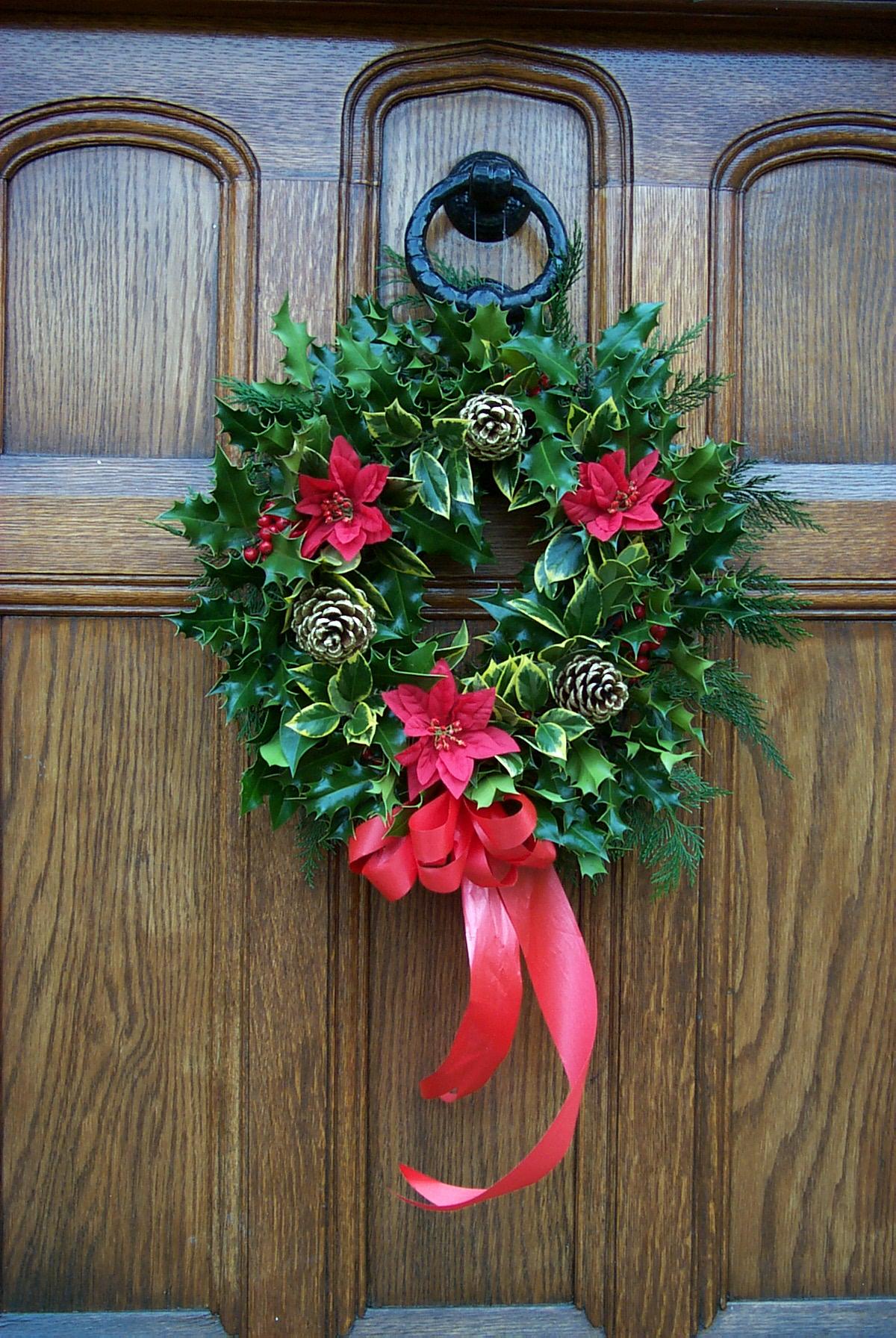Preston Holly Wreath